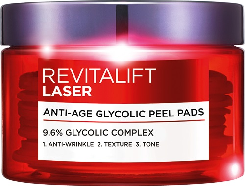 Revitalift Laser Glycolic Acid Pads 30pce