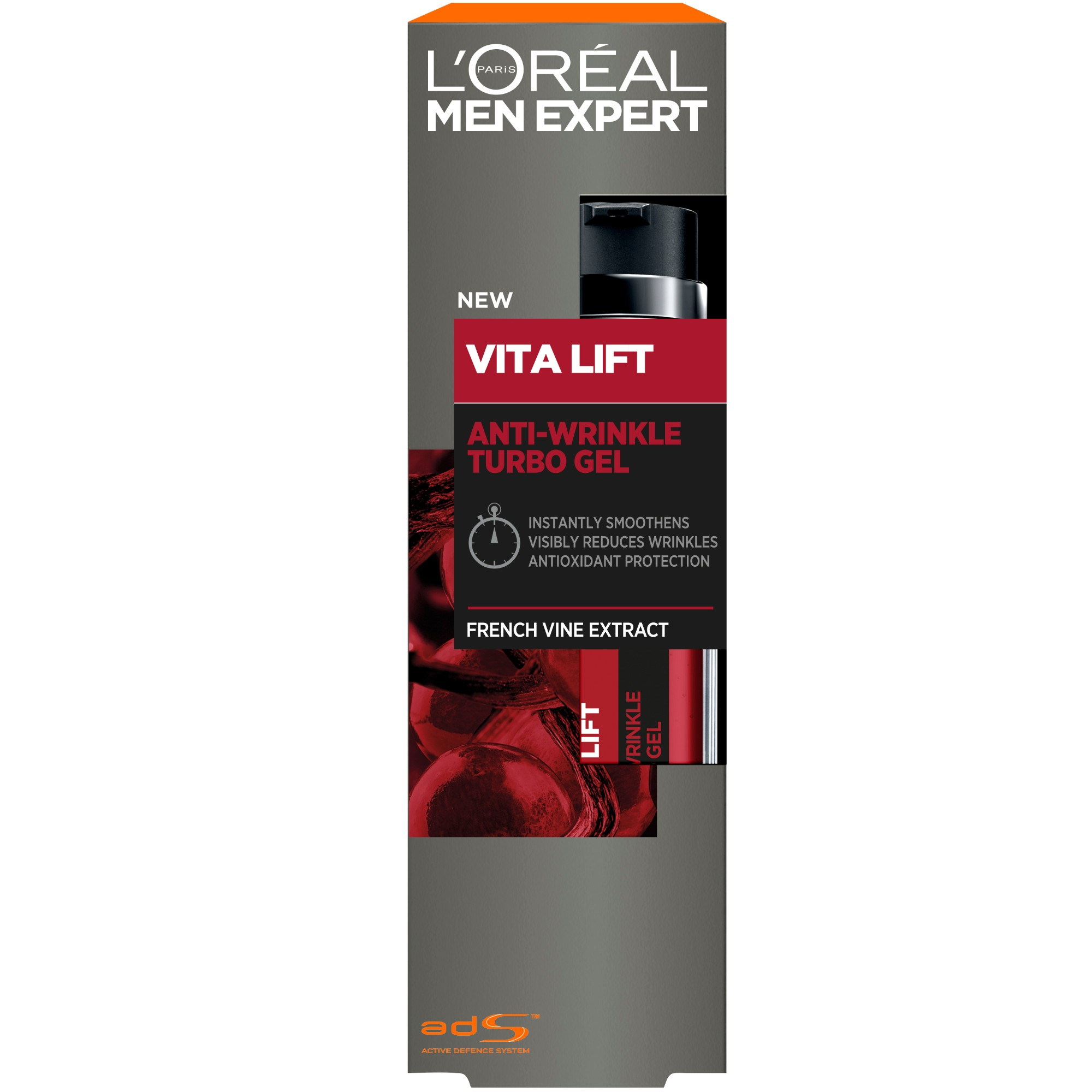 Men Expert Vitalift Face Gel 50 ml