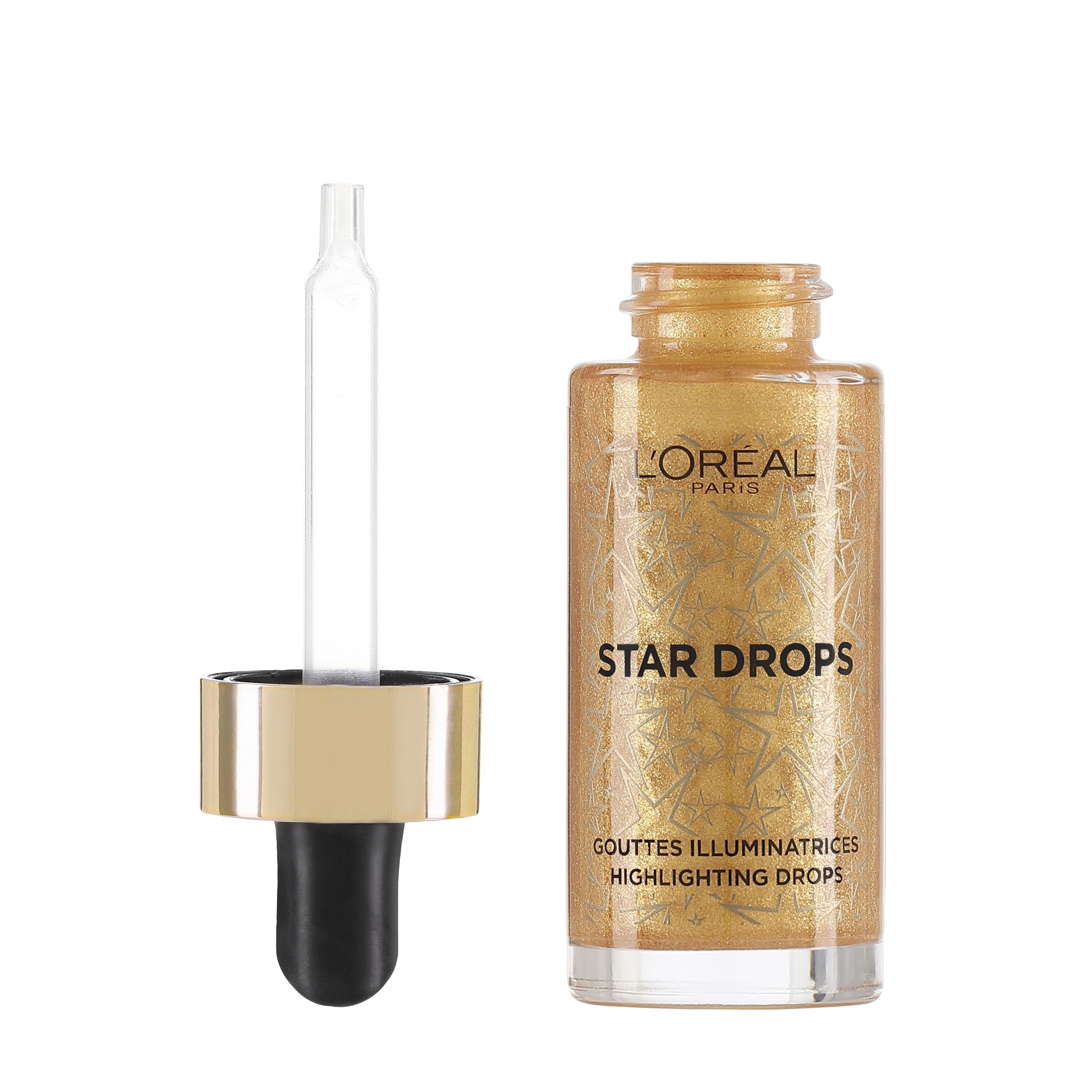 X-Mas Look Highlighting Drops 1 Warm Gold