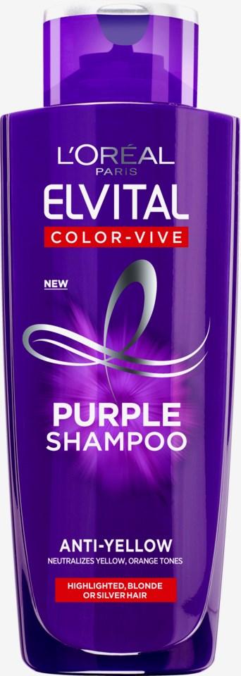 Elvital Color Vive Silver Shampoo 200ml