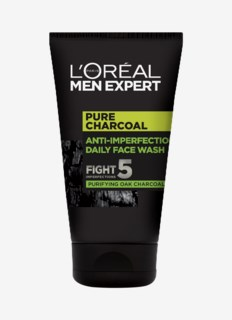 Men Expert Face Cleansing Gel Pure Charcoal Wash 100 ml