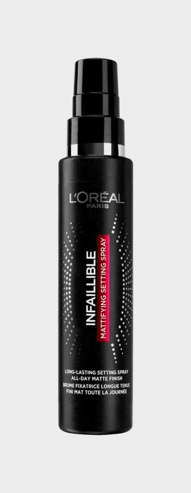 Infaillible Magic Setting Facial Mist 80ml