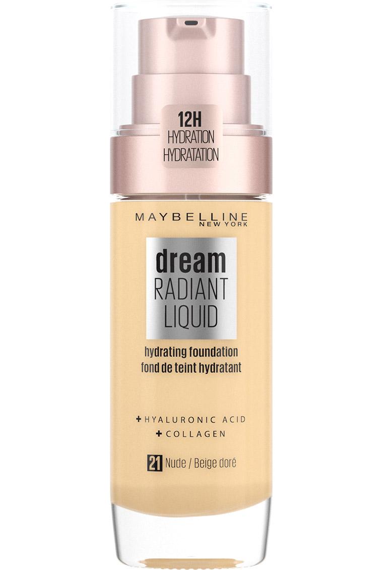 3 X Maybelline Dream Satin Liquid - 21 Nude - SPF 13 - 30