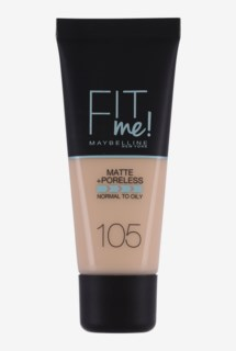 Fit me Matte & Poreless Foundation 105 Natural Ivory