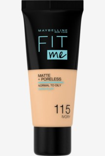 Fit me Matte & Poreless Foundation 115 Ivory