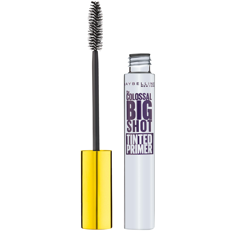 Colossal Big Shot Primer Mascara 1 Black Fiber