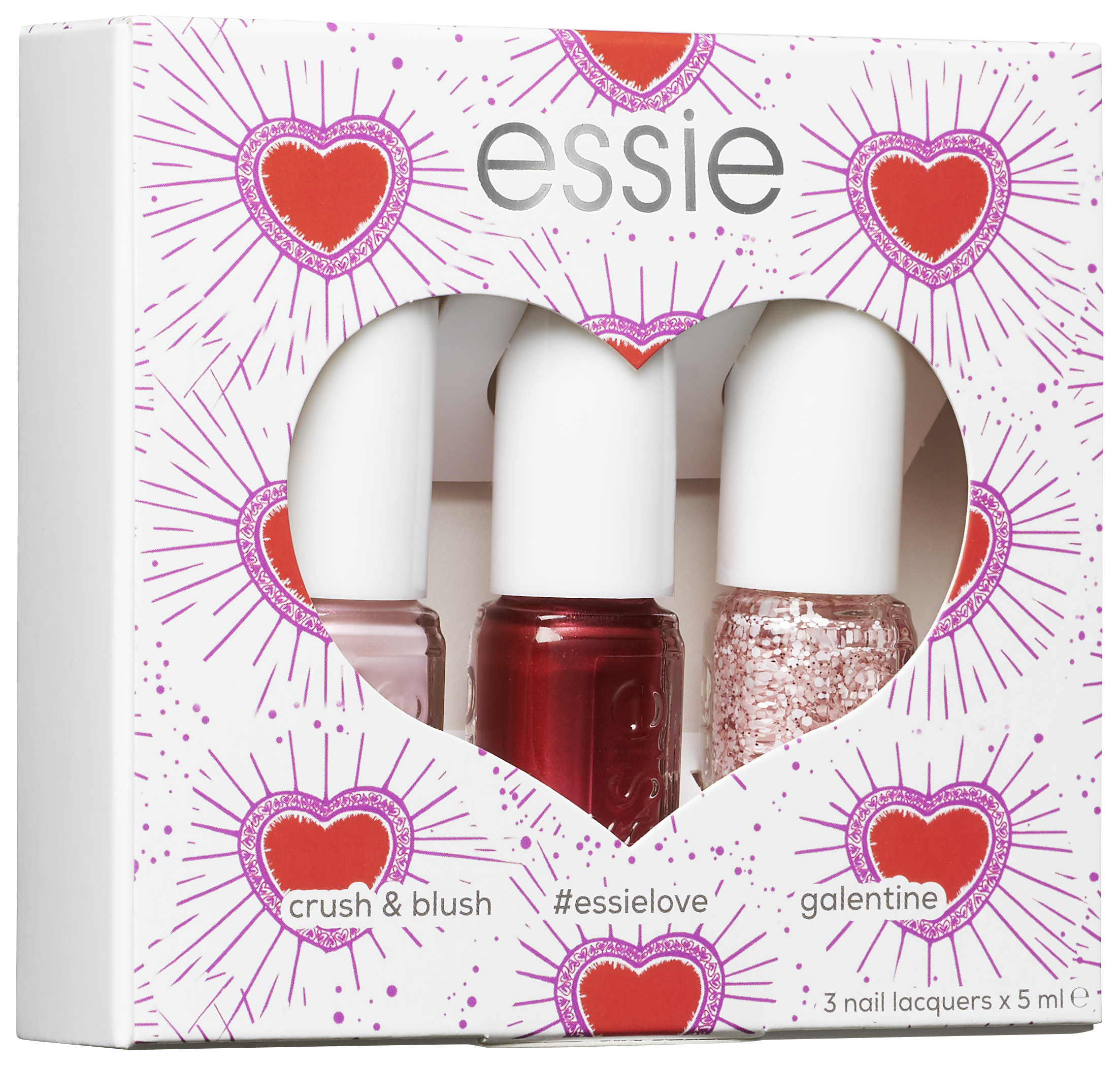 Valentine's Day Nailpolish Kit
