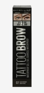 Tattoo Brow Waterproof Gel 7 Black Brown