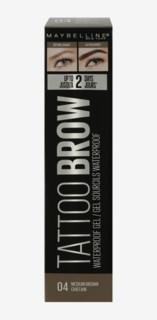 Tattoo Brow Waterproof Gel 2 Medium Brown