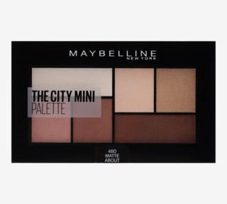 The City Mini Palette Eye shadow 480 Matte About Town