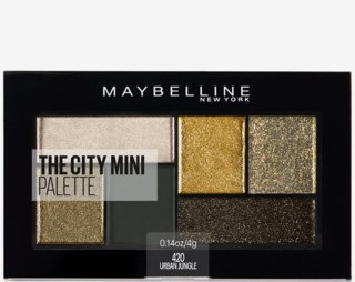 The City Mini Palette Eye shadow 420 Urban Jungle
