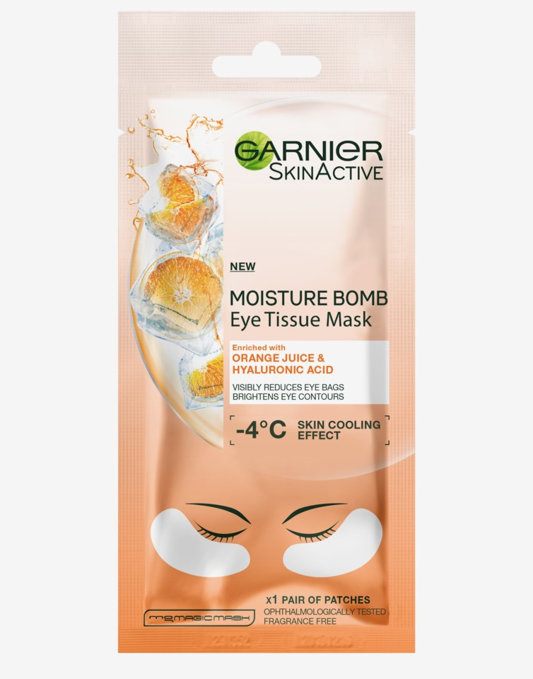Moisture Bomb Eye Tissue Mask