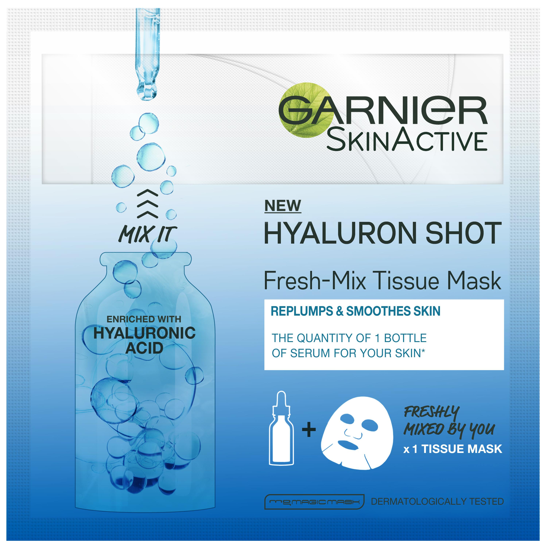 Fresh Mix Tissue Facial Masks Hyaluron Shot