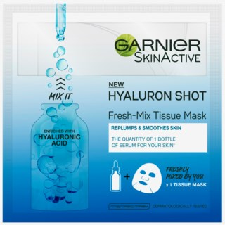 Fresh Mix Tissue Facial Masks Hyaluron Shot