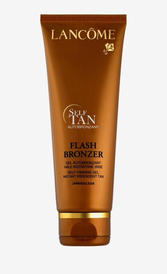 Flash Bronzer Self-Tanning Gel Legs 125ml