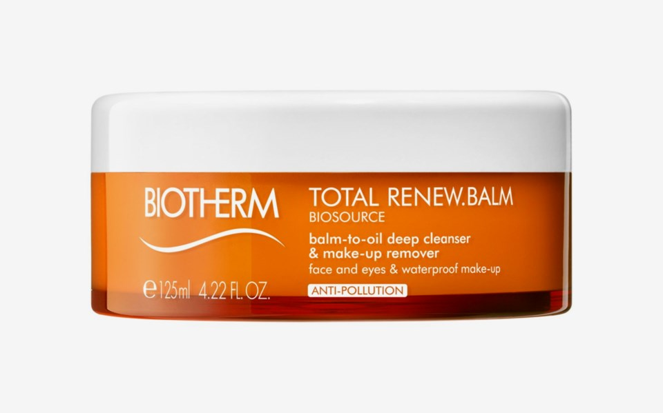 Biosource Total Renew Balm-to-Oil Deep Cleanser & Makeup Remover 125ml