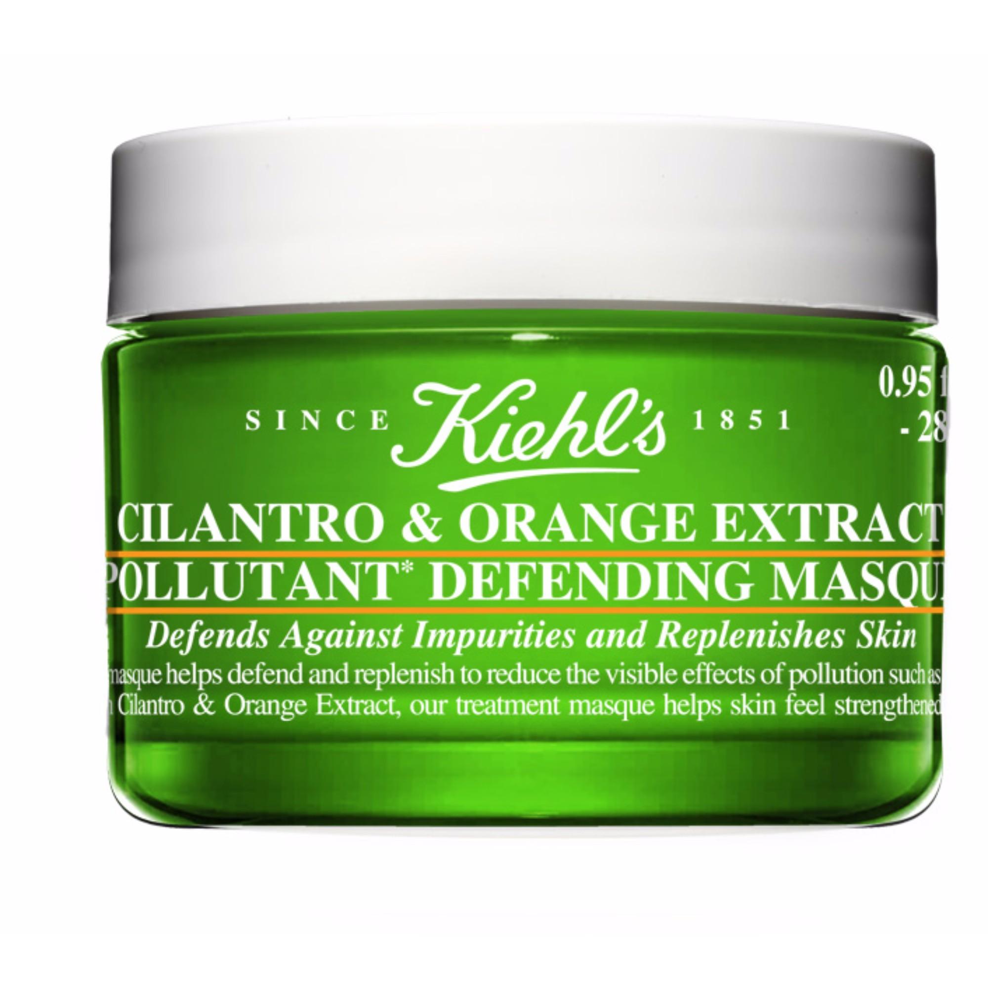 Cilantro & Orange Extract Pollitant Purifiying Face Masque 28ml