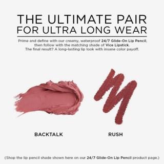 Vice Lipstick Backtalk (Comfort Matte)