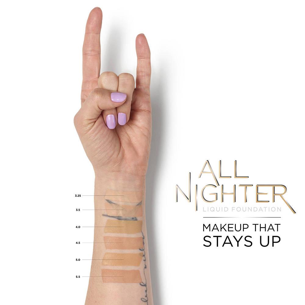 All Nighter Liquid Foundation 4.0