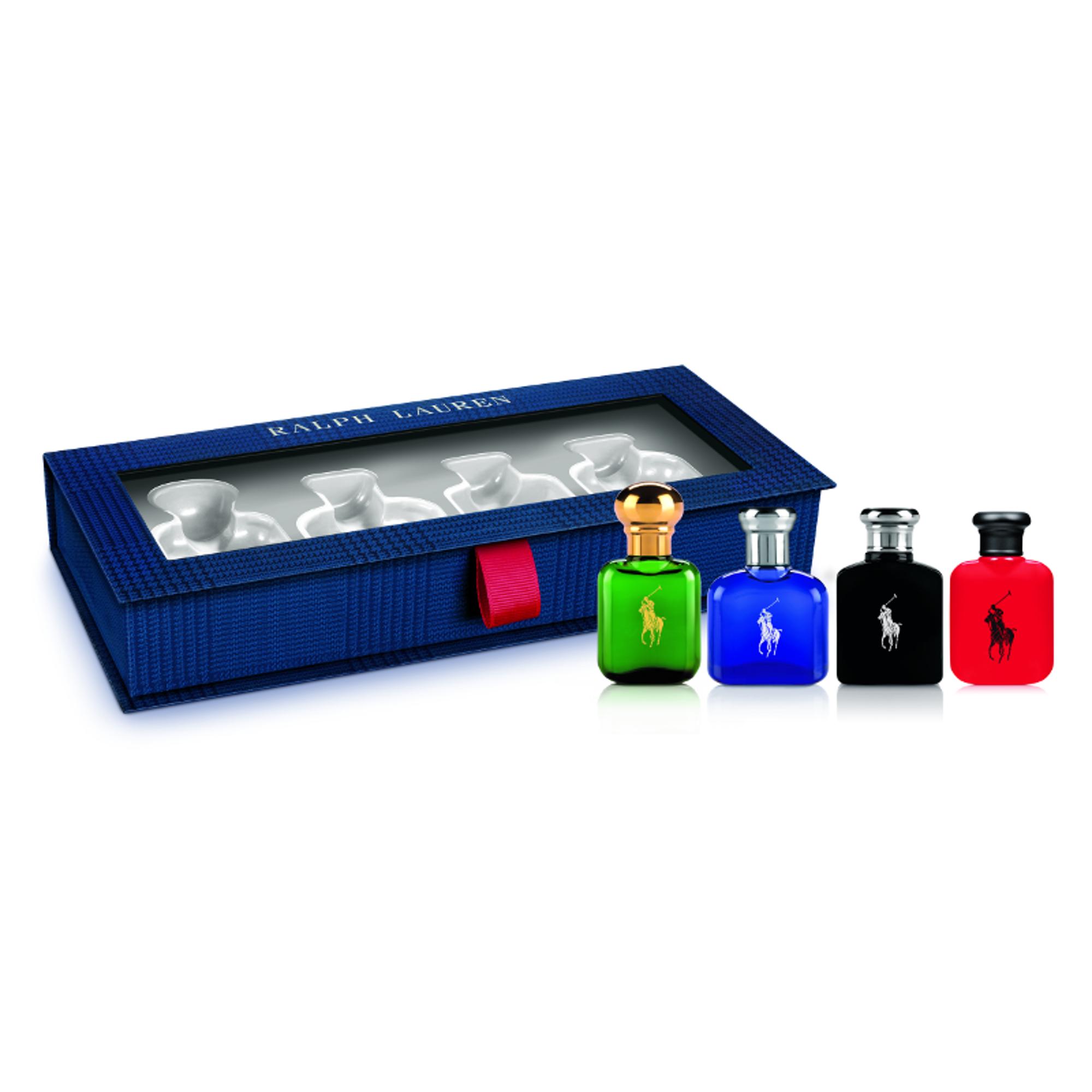 World Of Polo Gift Set Polo EdT 15ml+Polo Red edT 15ml+Polo Blue EdT 15ml+Polo Black EdT 15ml
