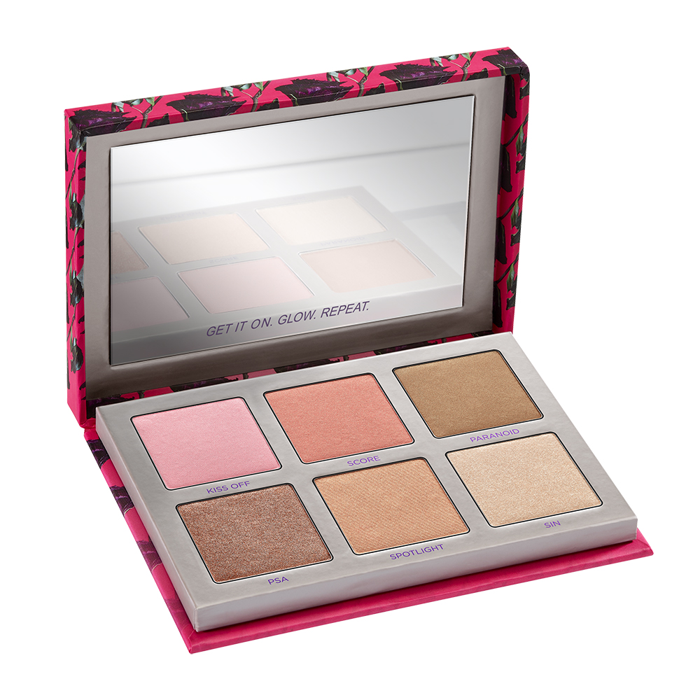 Sin Afterglow Highlighter Palette 8-Hour Highlighter + Blush Sin Afterglow Highlighter+ Blush Palett