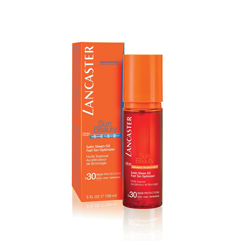 Sun Beauty Satin Sheen Oil Fast Tan Optimizer Spf 30 150ml