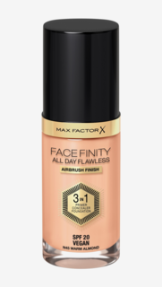 Facefinity All Day Flawless Foundation 45 Warm Almond