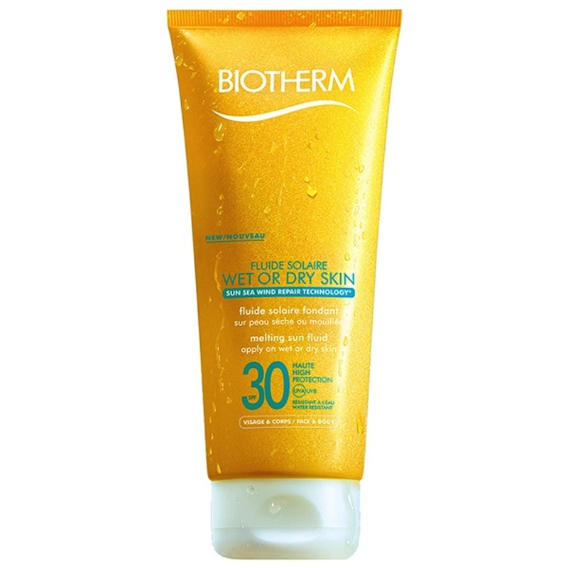 Fluide Solaire Wet or Dry Skin SPF 30