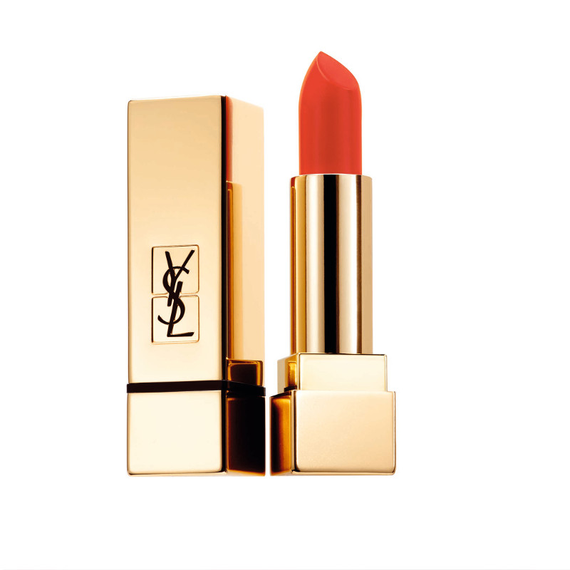 Rouge Pur Couture Lipstick The Mats 213 Orange Seventies