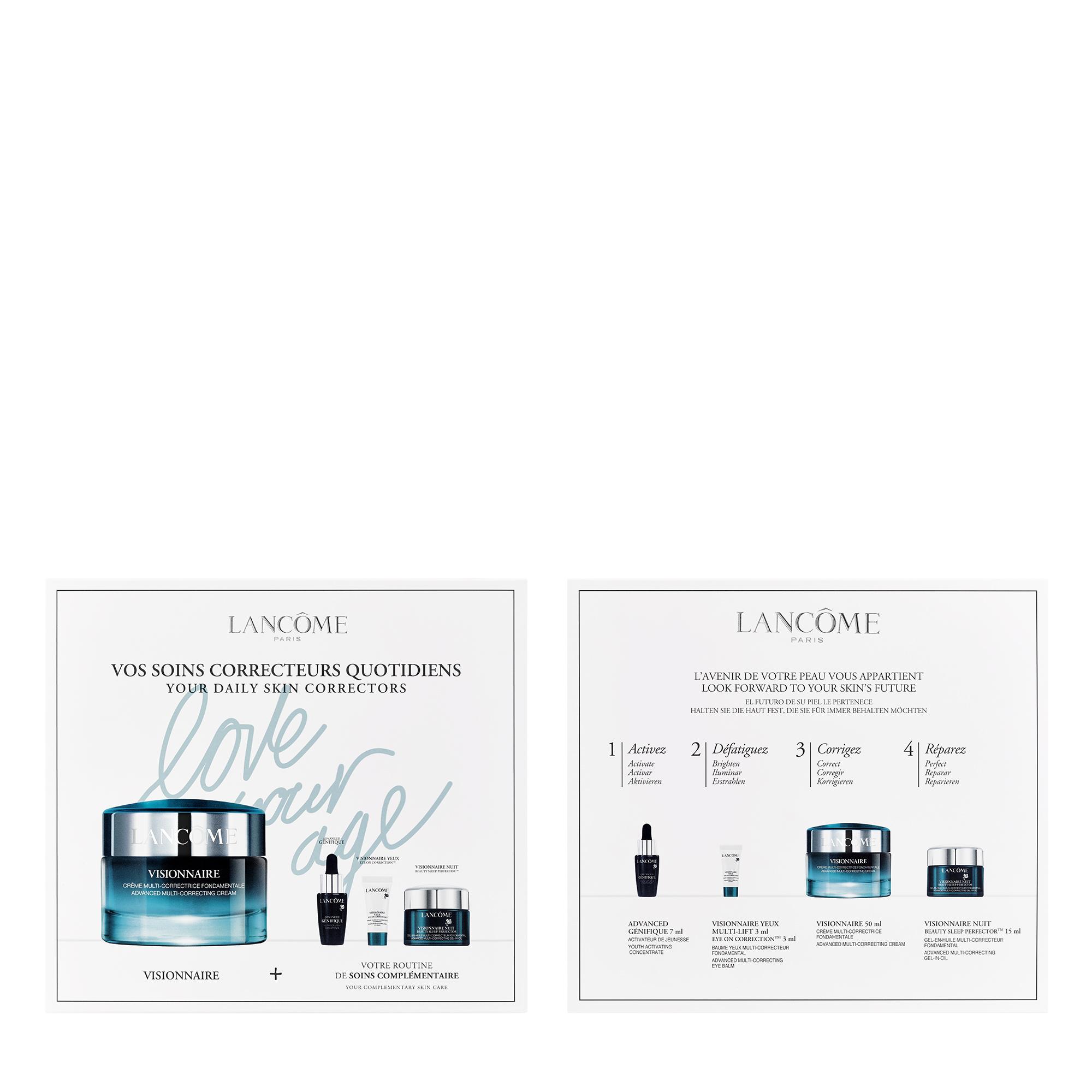 Visionnaire and Génifique Skincare Gift Set Visionnaire Starter Kit Day Cream 50ml