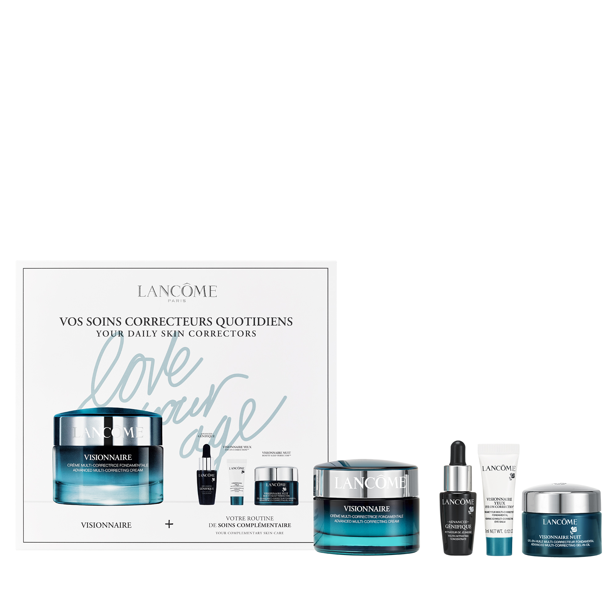 Visionnaire and Génifique Skincare Gift Set