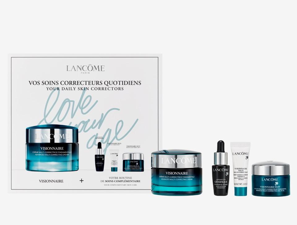 Visionnaire and Génifique Skincare Gift Set
