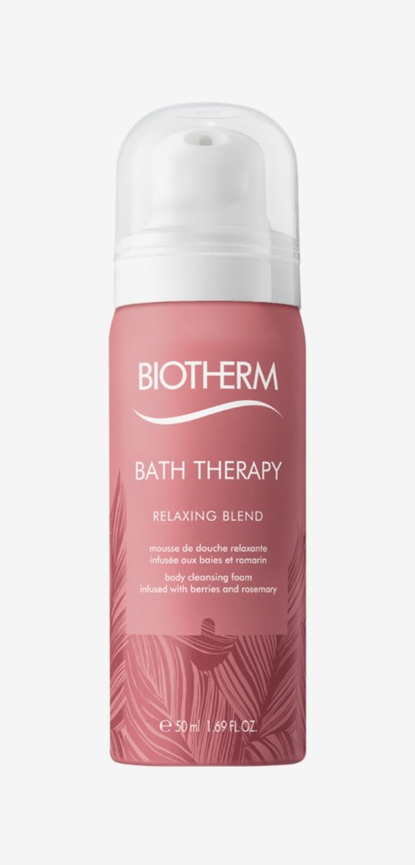Bath Therapy Relaxing Blend Cleansing Foam 50ml