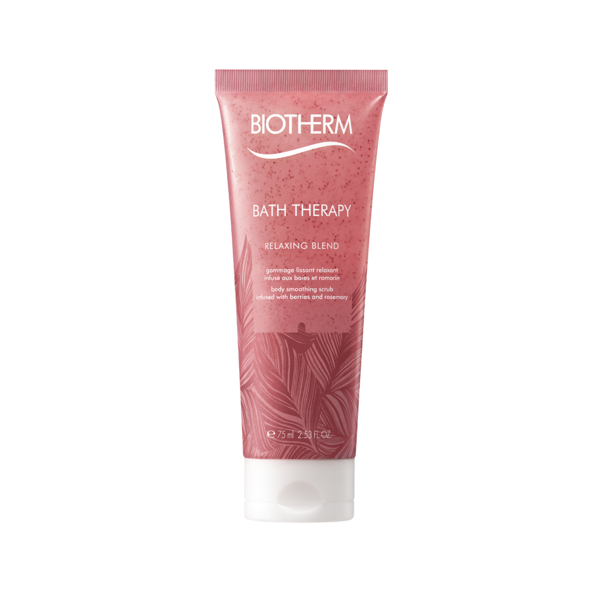Bath Therapy Relaxing Blend Body Scrub Travel Size 75ml