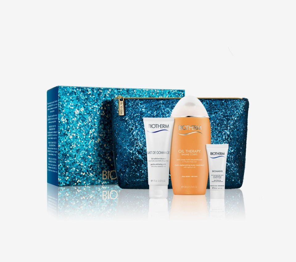 Oil Therapy Baume Corps Bodylotion Baume Corporel Recruitment Gift Box