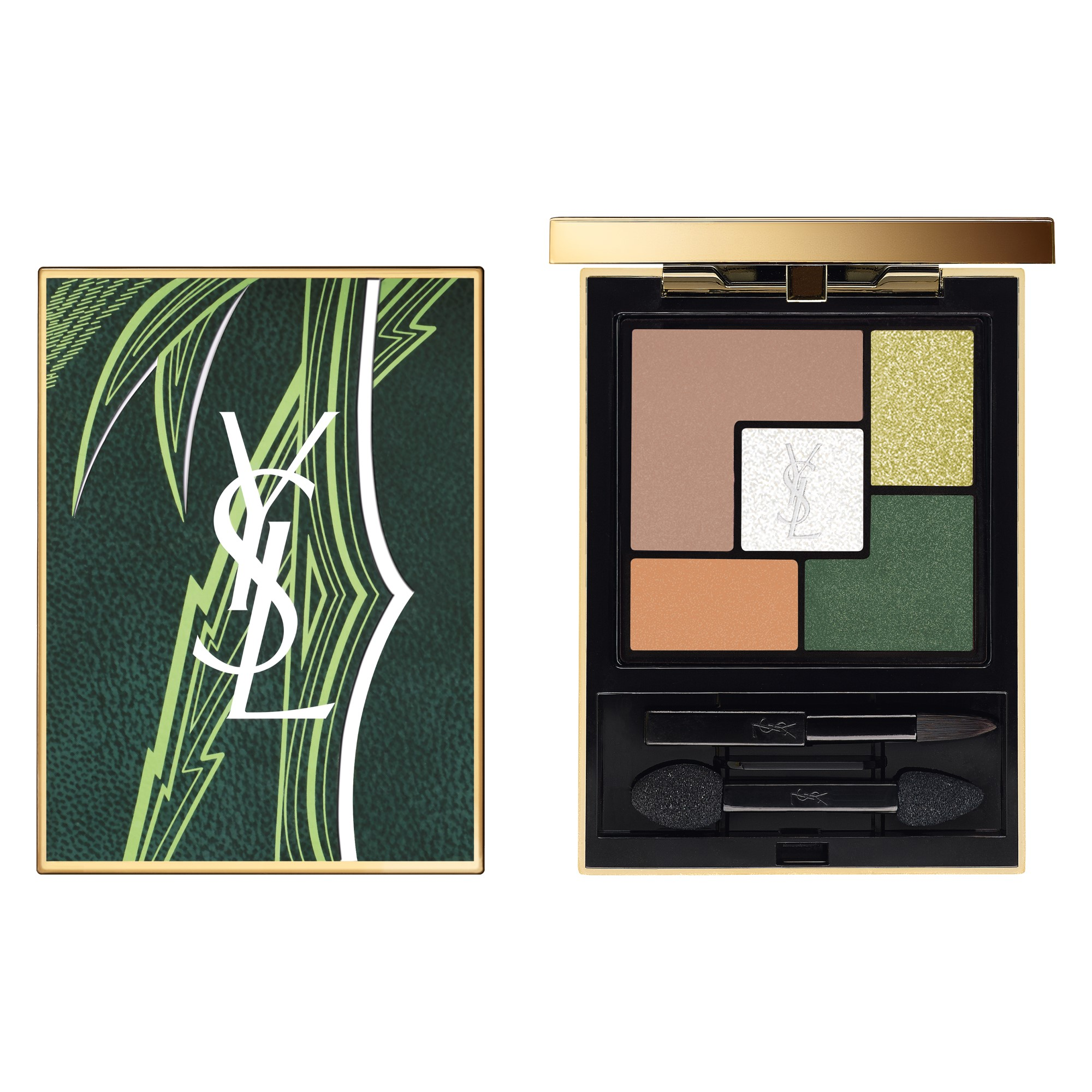 Couture Eye Shadow Palette Summer Edition Couture 5-Pan Summer Eye Shadow Palette