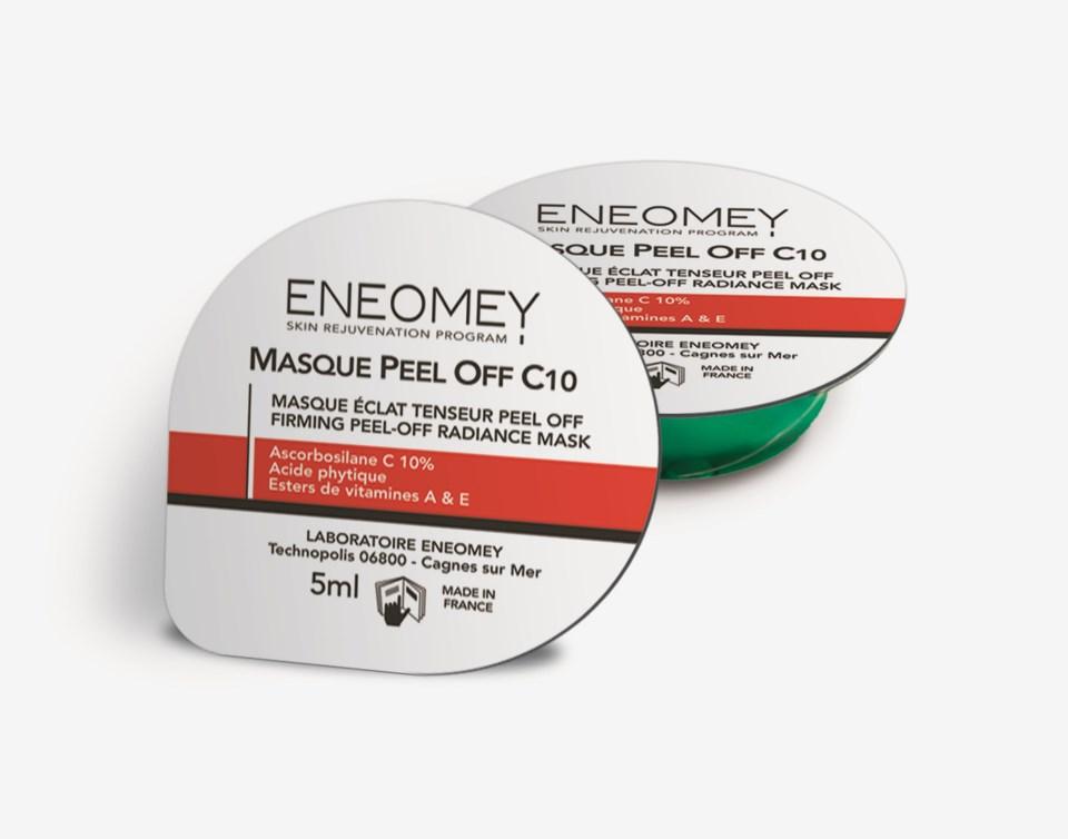 Masque Peel Off C10 50 ML 10 x 5ml