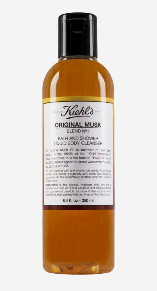 Musk Liquid Body Cleanser 250ml