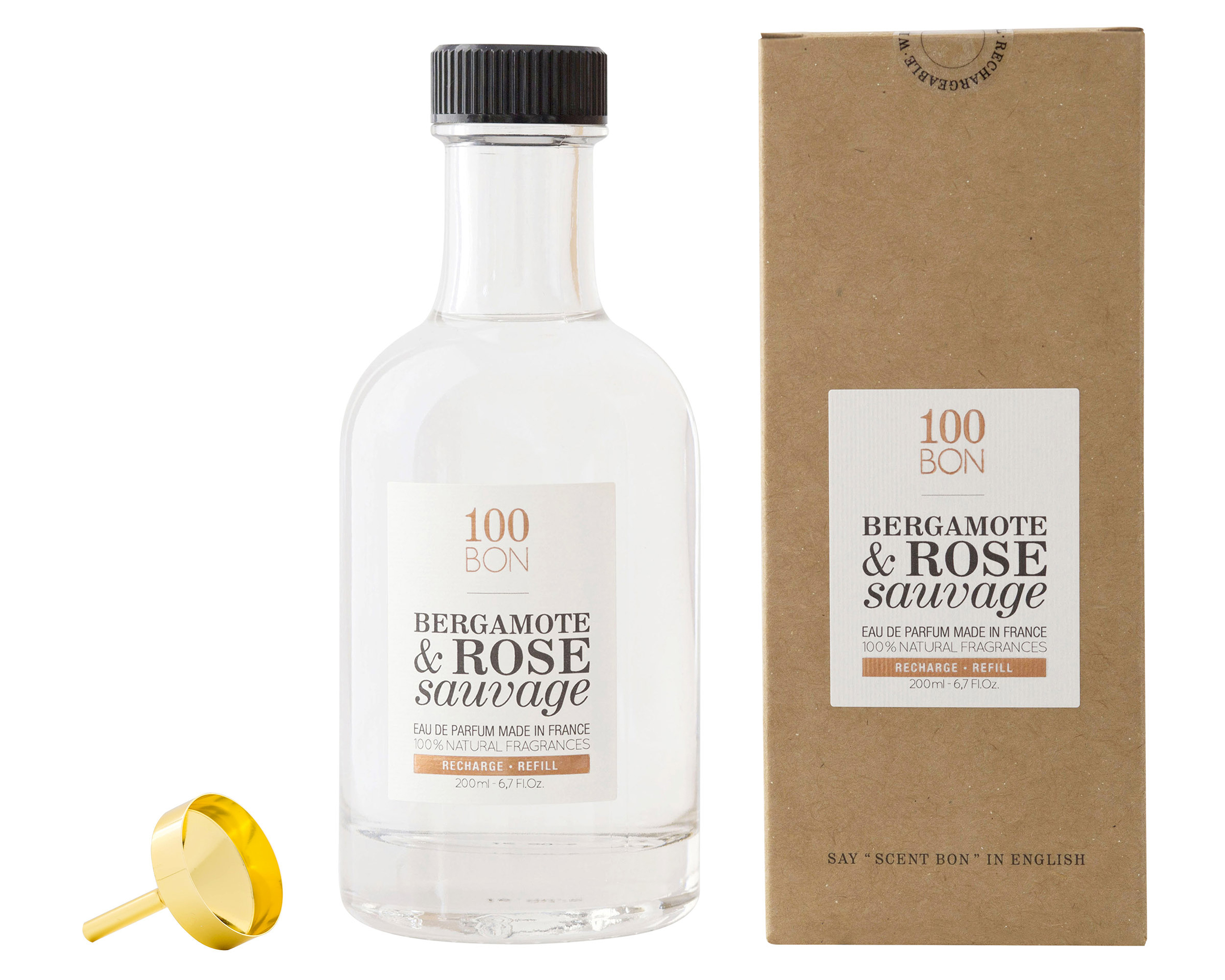Bergamote/Rose Sauvage EdP 200 ml