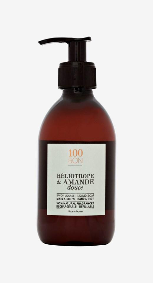 Heliotrope & Amande Douce Liquid Soap 300ml