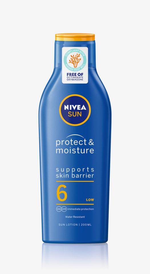 Protect & Moisture Sun Lotion SPF 6 200ml