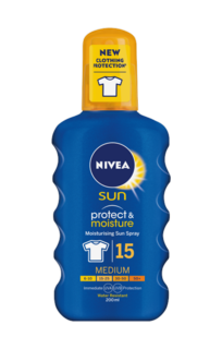 Protect & Moisture Sun Spray SPF15 200 ml