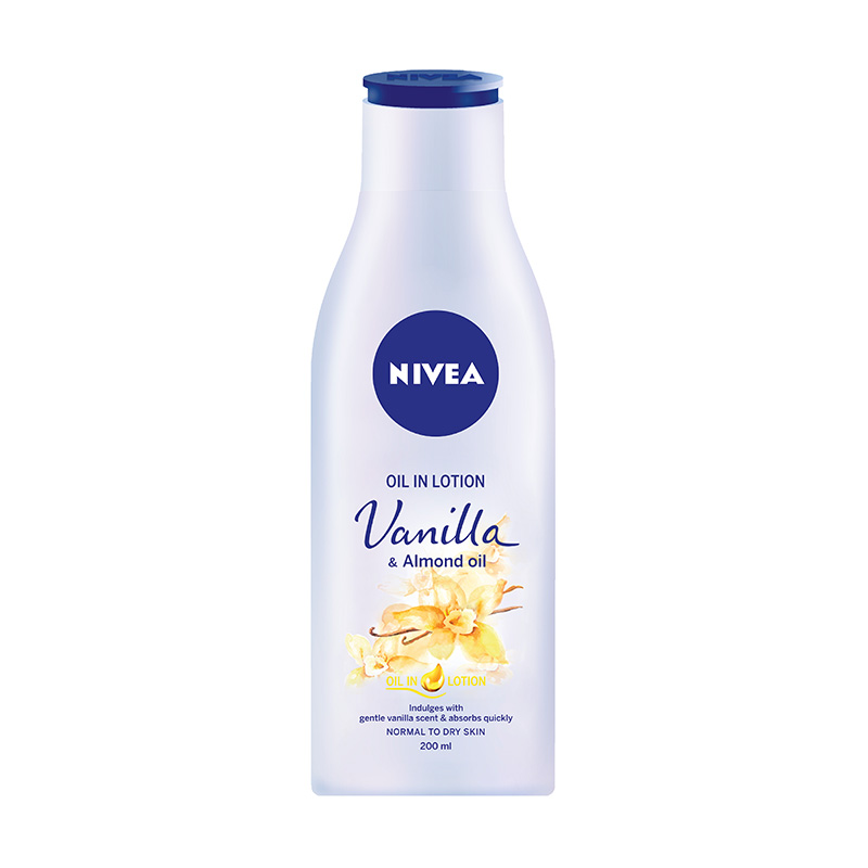 Vanilla & Almond Oil in Lotion 200 ml