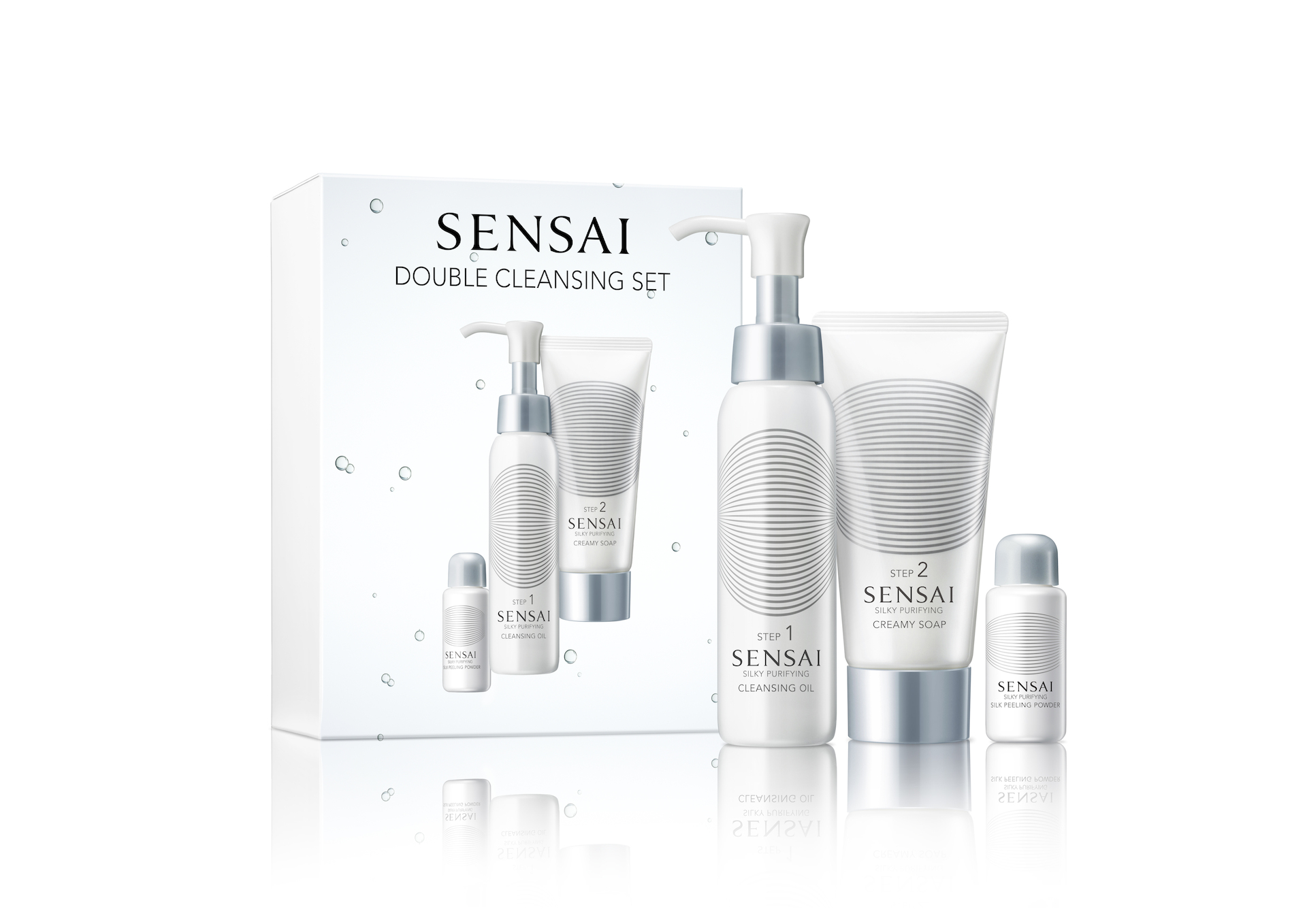Silky Purifying Double Cleansing Set