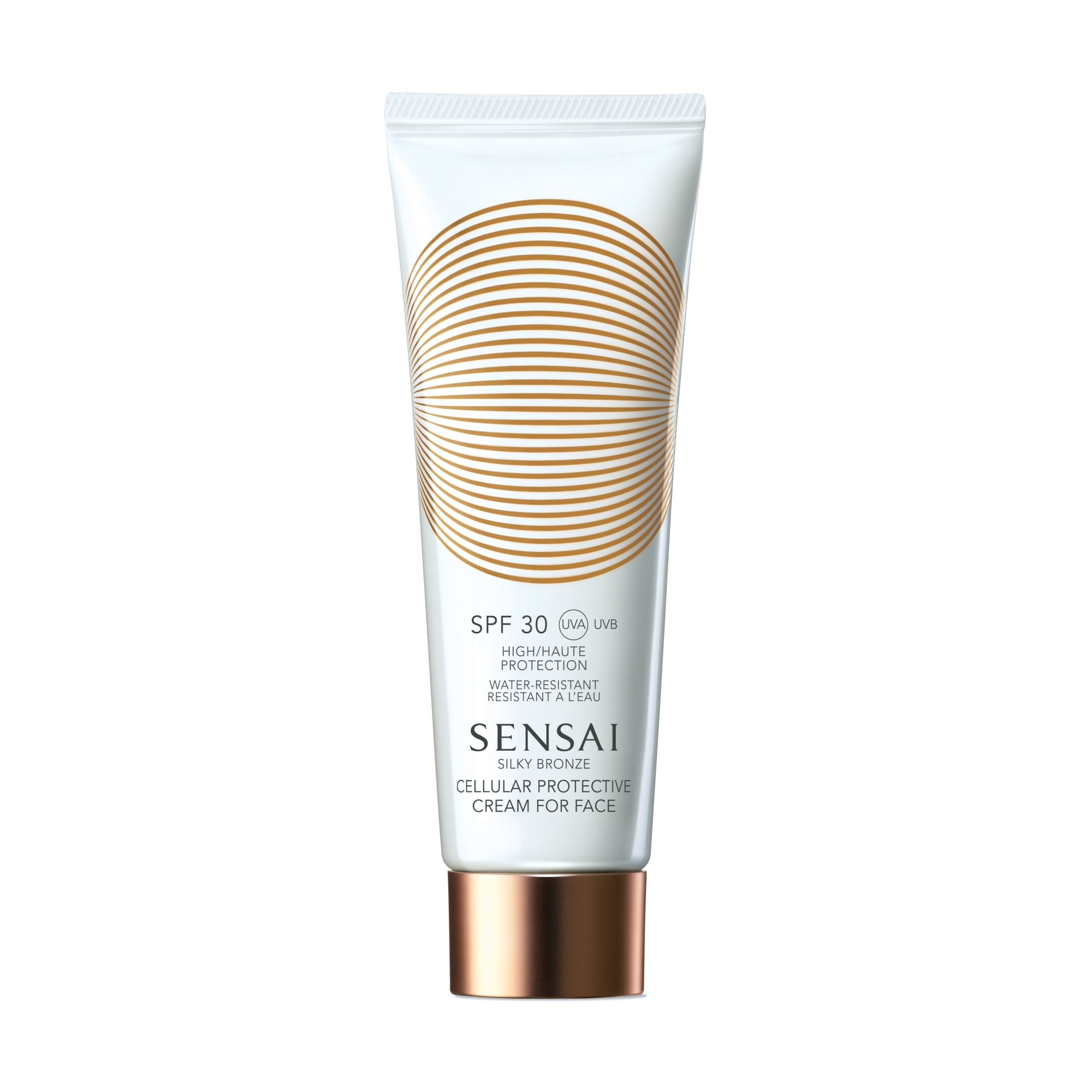 Silky Bronze Protective Cream for Face SPF 30