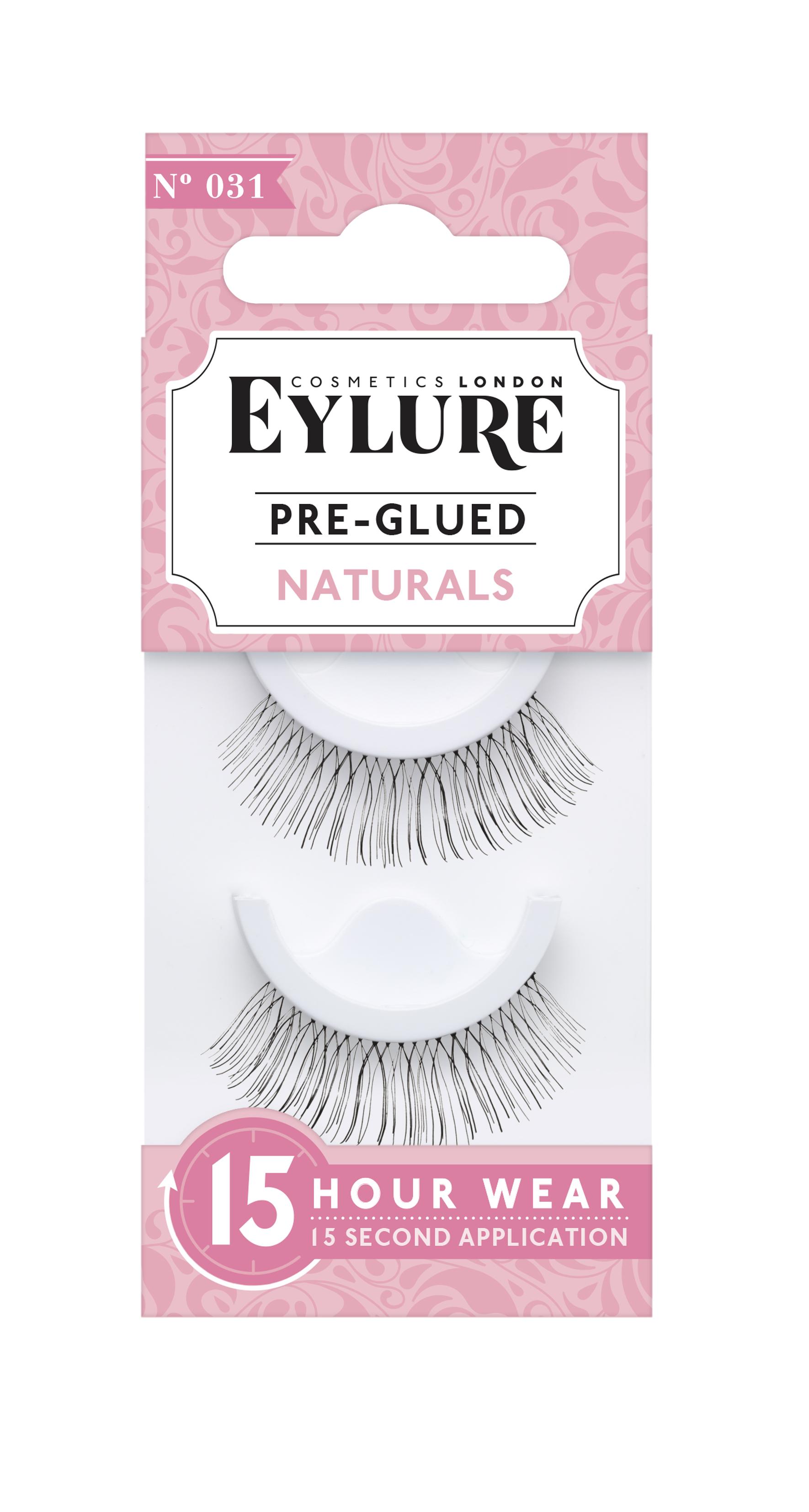 Pre-Glued Naturals False Lashes 031