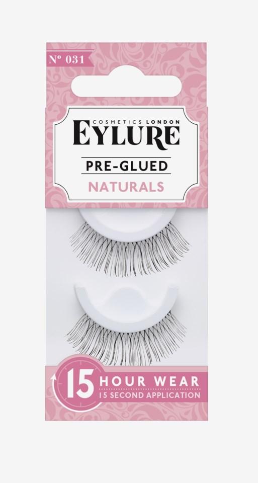 Pre-Glued Naturals False Lashes 31