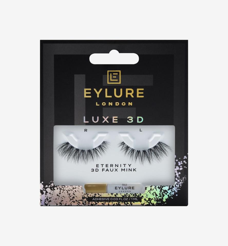 Luxe 3D False Lashes Eternity Lash