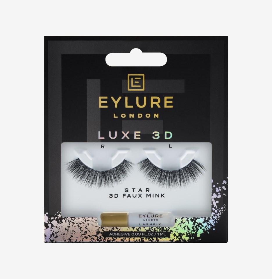 Luxe 3D False Lashes Star Lash