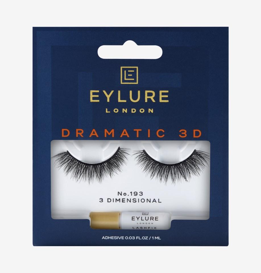 Dramatic 3D False lashes 193 Dramatic 3D False Lashes 193
